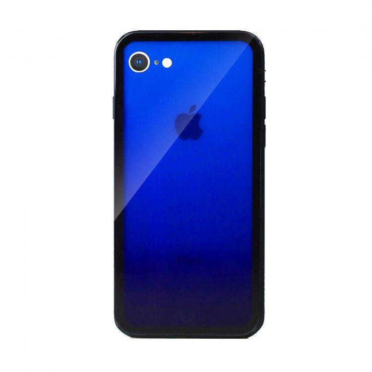 Mock Up Etui Iphone 7 8 Gradient Niebieski