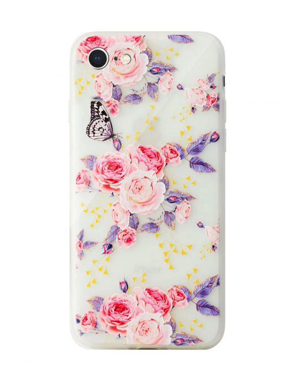 Mock Up Etui Iphone 7 8 Kwiatki