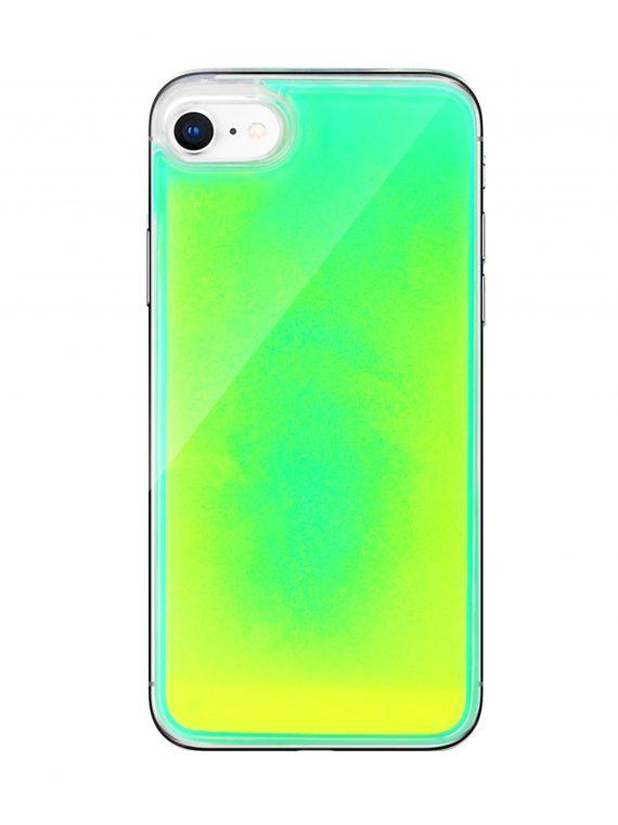 Mock Up Etui Iphone 7 8 Plyn Zolty