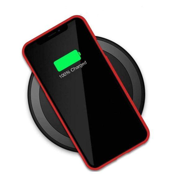 Czerwone Etui Silikonowe Soft Do Iphone 11 6
