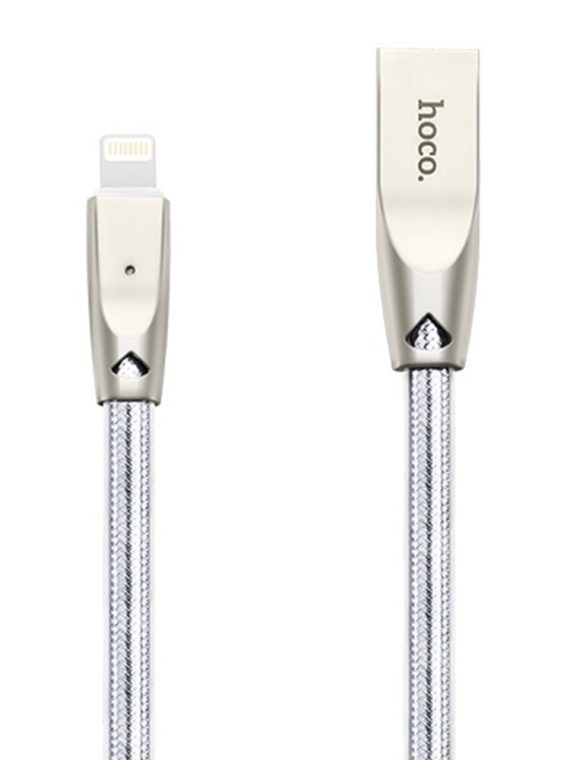 Kabel Usb Do Iphone Marki Hoco Lightning 1,2 Metra Szary