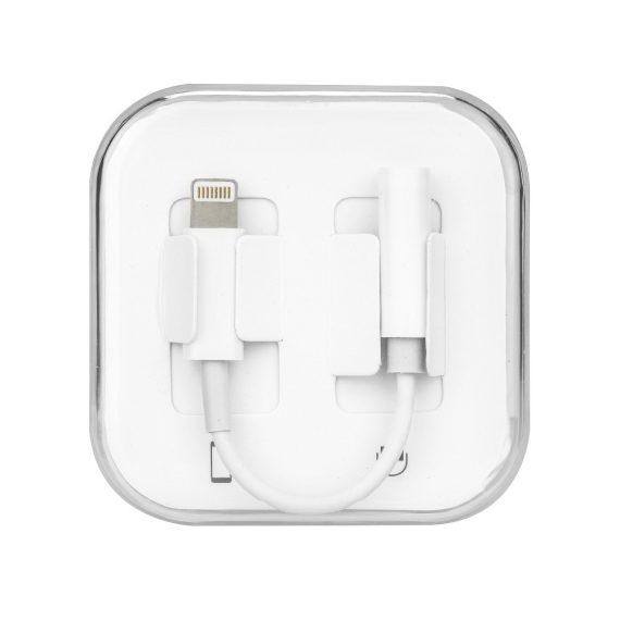 Adapter Przejściówka na słuchawki z Lightning iPhone do audio jack 3.5