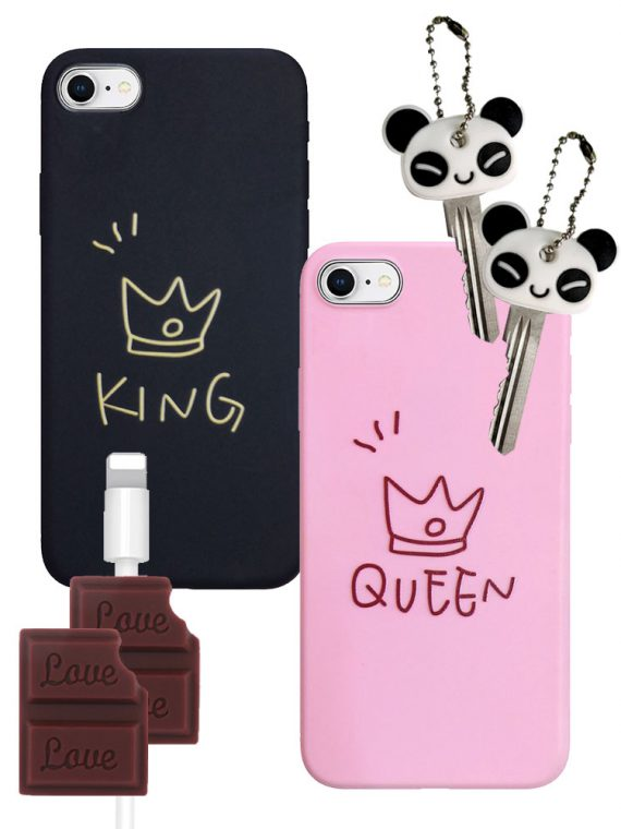 Zestaw Iphone Dla Par King I Queen Iphone 7 8