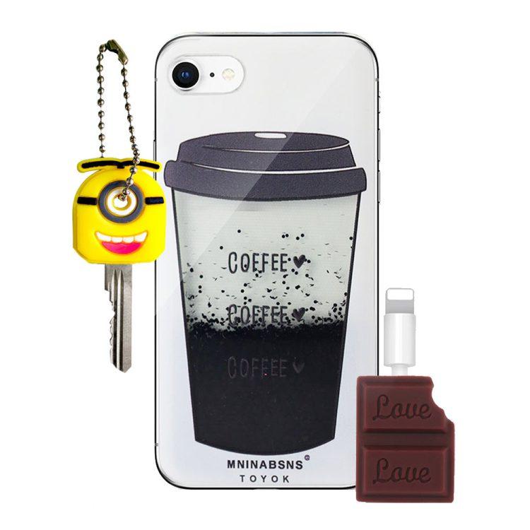 Zestaw Prezentowy Gsm Etui Iphone 7 8 – Kawa
