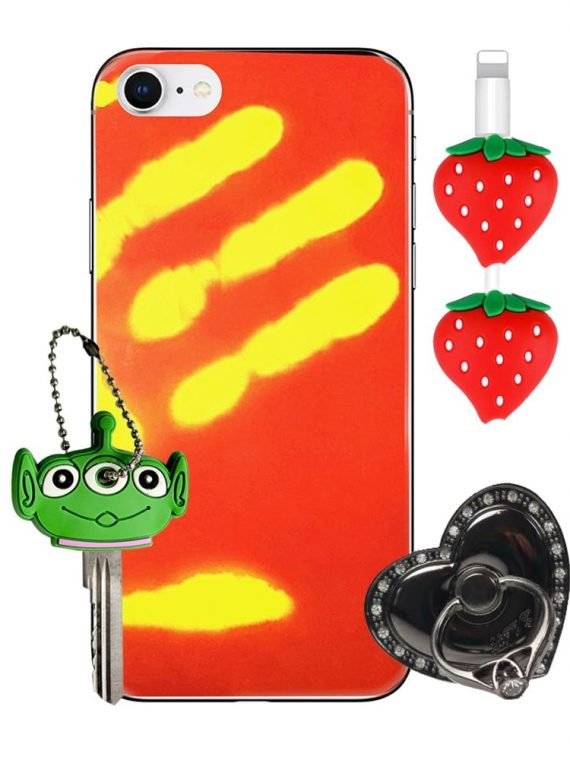 Zestaw Prezentowy Gsm Etui Iphone 7 8 – Termo Czerwony