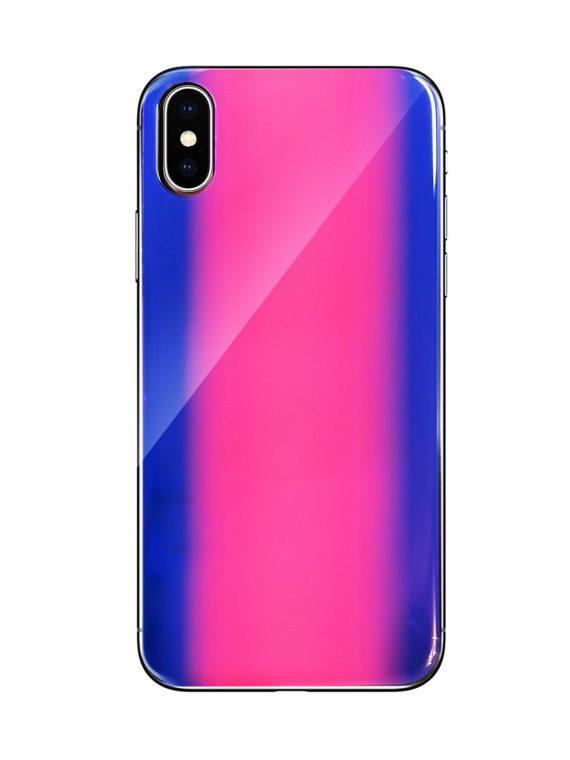 Etui Vennus Glass Case Reflect X Xs Różowe