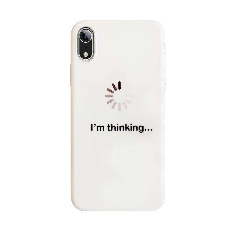Etui Imthinking Białe Do Phone Xr