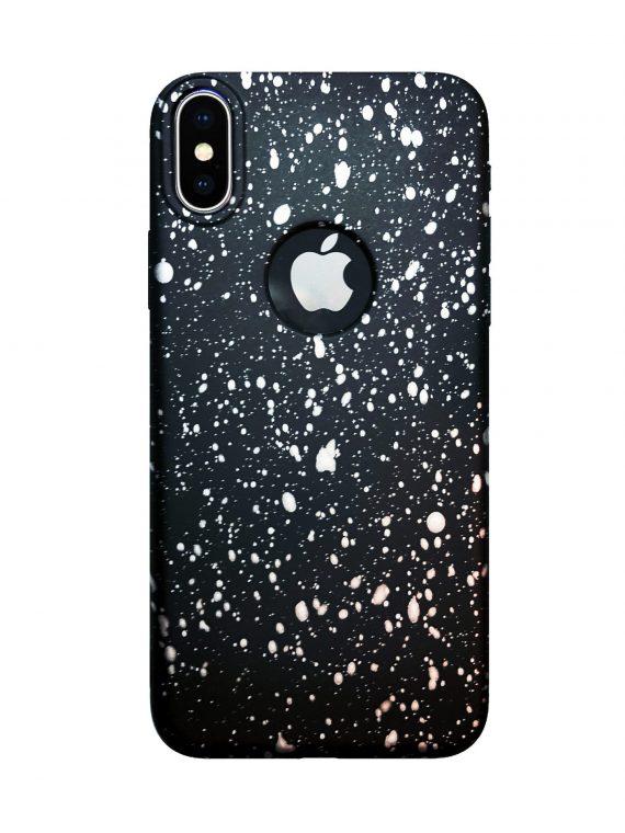 Etui Luxury Plamy Farby Iphone X