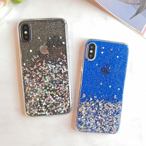 Etui Niebieskie Z Cekiny Do Phone X Xs 3 Scaled
