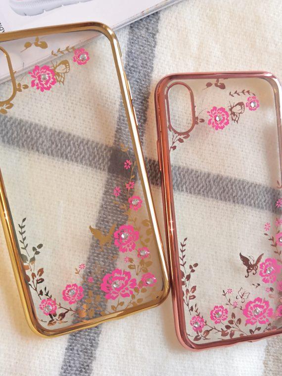 Etui Róże Nzadru Do Phone X Xs Miedziany 7