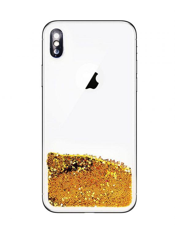 Etui Z Płynem Do Phone X Xs Złoty