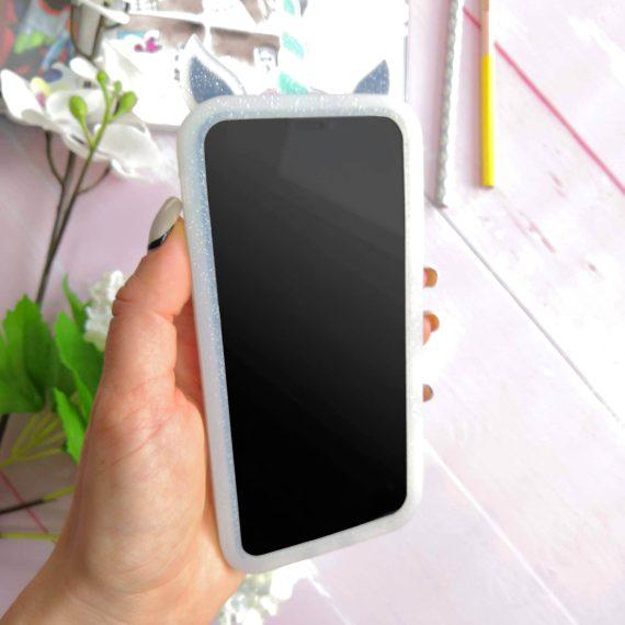 Etui Gumowe Zwierzak Jednorożec Z Grzywą Iphone X Xs 2