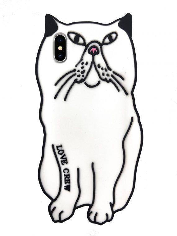 Etui Iphone X Xs Gumowy Zwierzak Kot Kotek