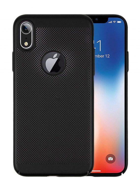 Etui Iphone Xr Oodychające Czarne