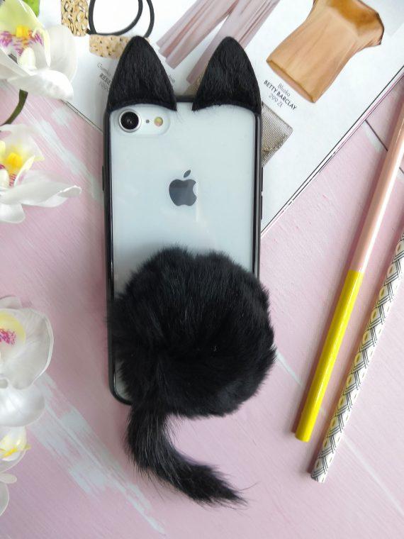 Etui Kotek Kot Futro Iphone 7 8 4