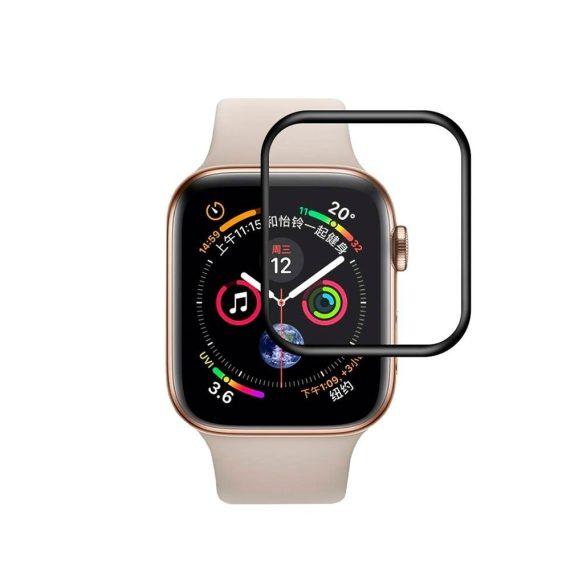 Szkło hybrydowe 5D niewidoczne na cały ekran do Apple Watch SE,6,5,4 – 40 mm