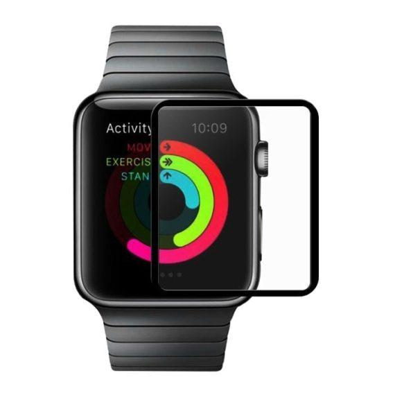 Szkło hartowane 3D na cały ekran do iWatch Apple Watch SE,6,5,4 44 mm