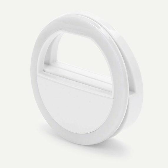 Lampa Pierścieniowa Do Zjęć Selfie Biała+kabel Usb Micro 5