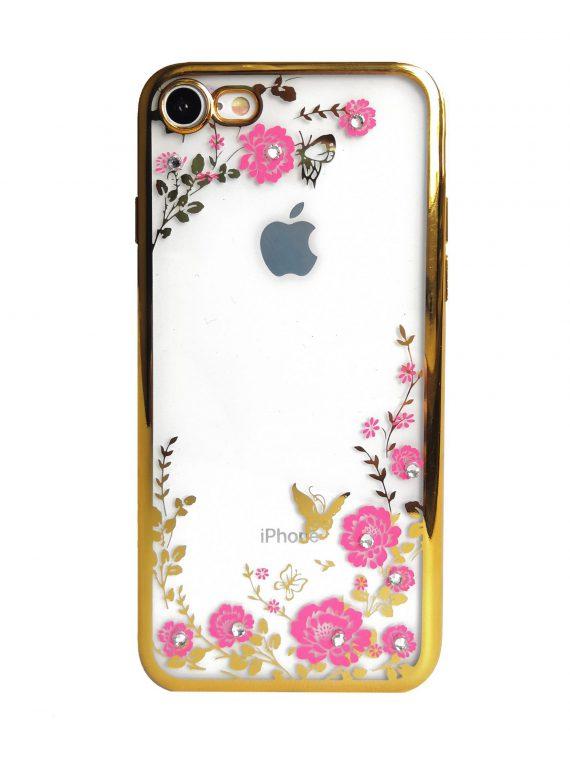 Mock Up Etui Iphone 7 8 Róże Diament