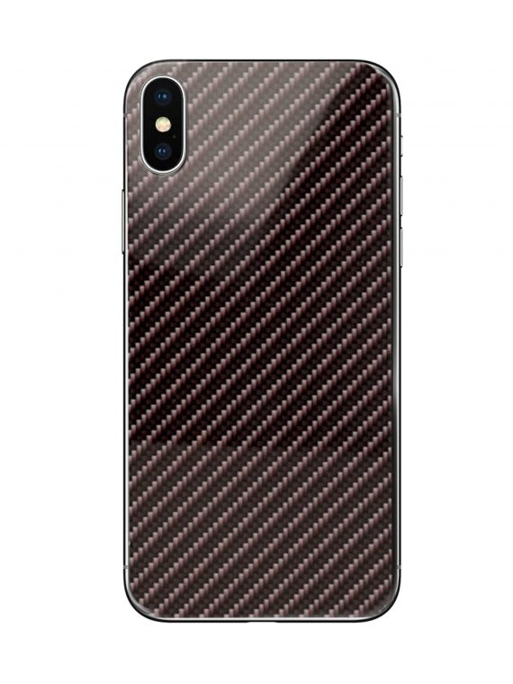 Mock Up Etui Iphone X Xs Carbon 2