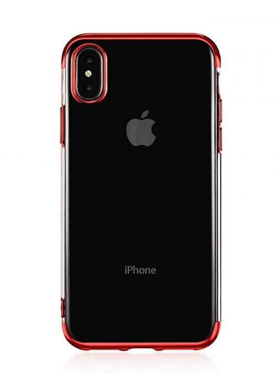 Mock Up Etui Iphone X Xs Czerwone Boki