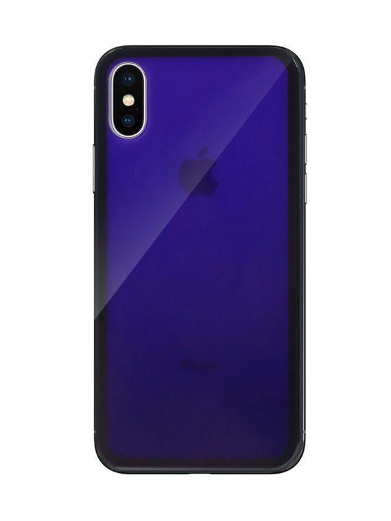 Mock Up Etui Iphone X Xs Gradient Ciemno Fioletowy