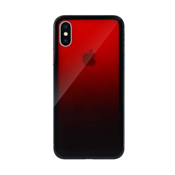 Mock Up Etui Iphone X Xs Gradient Czerwony