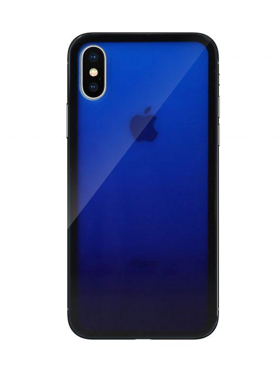 Mock Up Etui Iphone X Xs Gradient Niebieski