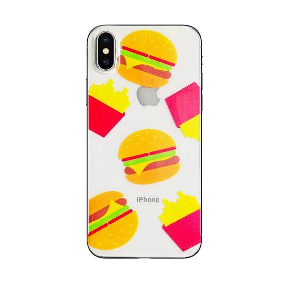 Mock Up Etui Iphone X Xs Hamburger