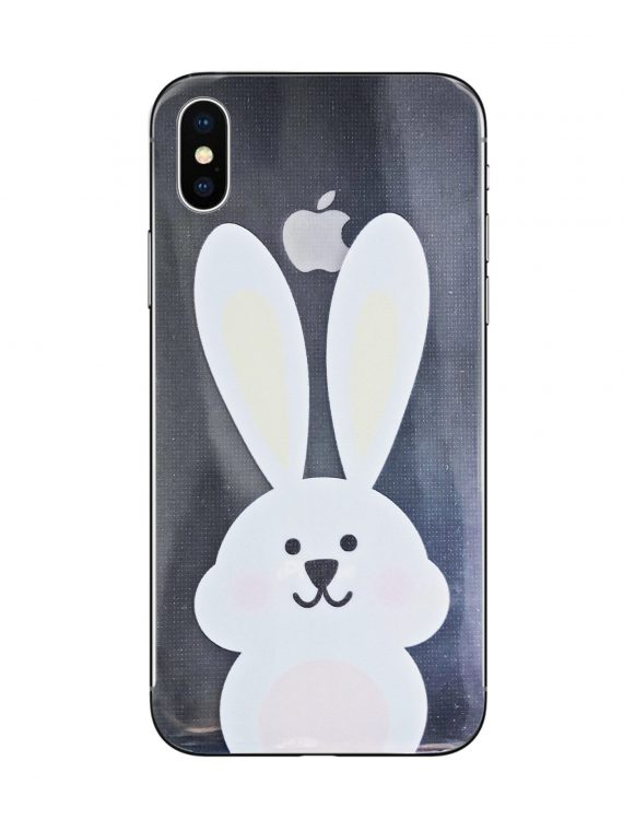 Mock Up Etui Iphone X Xs Królik Nadruk