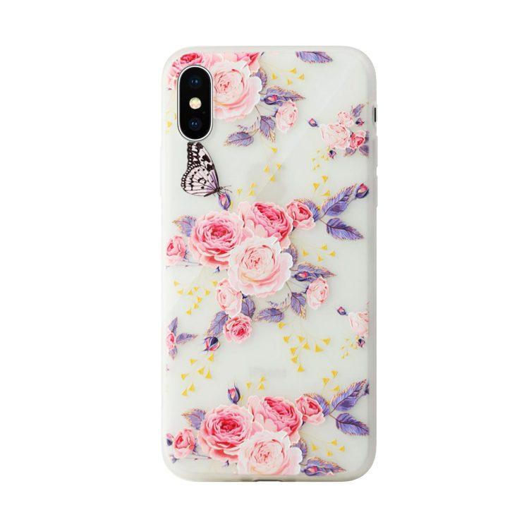 Mock Up Etui Iphone X Xs Kwiatki