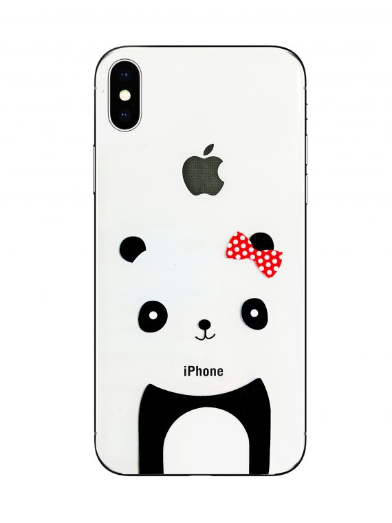 Mock Up Etui Iphone X Xs Miś Z Kokardką