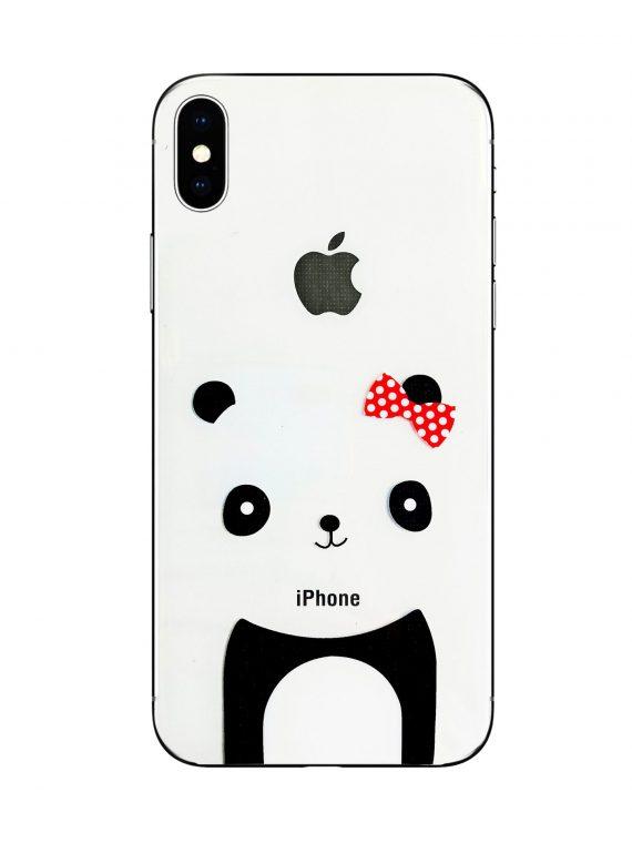 Mock Up Etui Iphone X Xs Miś Z Kokardką