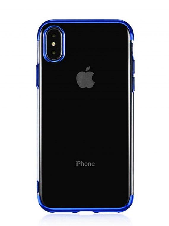 Mock Up Etui Iphone X Xs Niebieskie Boki