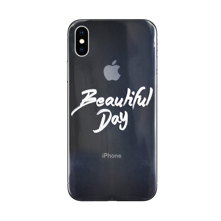 Mock Up Etui Iphone X Xs Z Napisem Beutiful Day