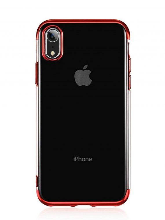 Mock Up Etui Iphone Xr Czerwone Boki