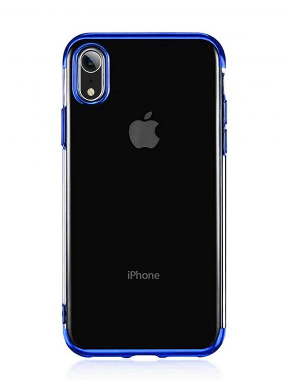 Mock Up Etui Iphone Xr Niebieskie Boki