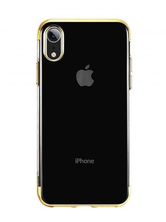 Mock Up Etui Iphone Xr Złote Boki
