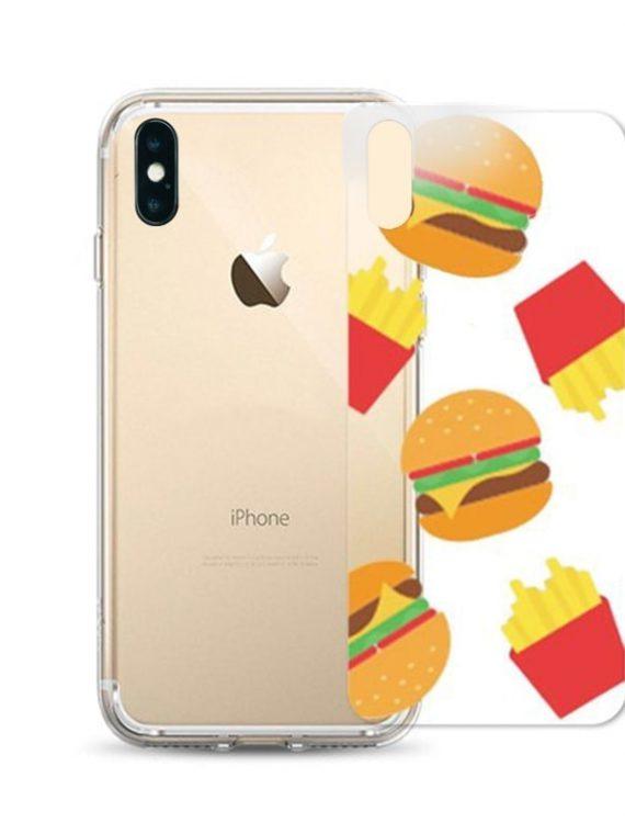 Ozdobna Wkladka Iphone X Xs Hamburger