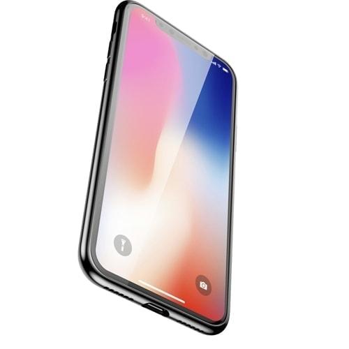 Pol Pm Baseus Glass Sparkling Case Etui Pokrowiec Ze Szklanym Panelem Apple Iphone Xs X Czarny Wiapiphx Ki01 48956 4
