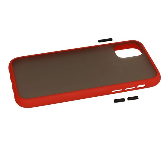 Color Button Red 6 D