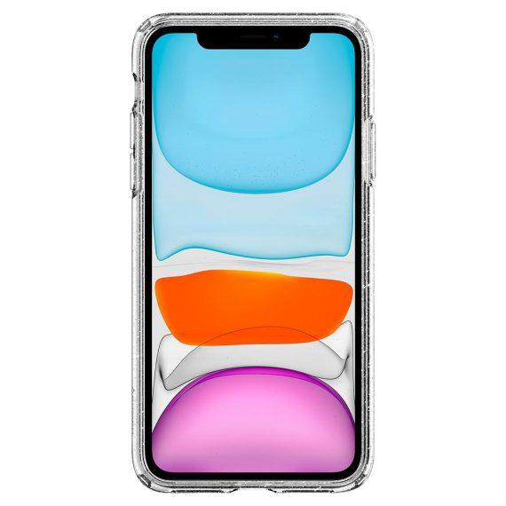 Spigen Liquid Crystal Glitter Iphone 11 Przezroczyste Etui Broka4