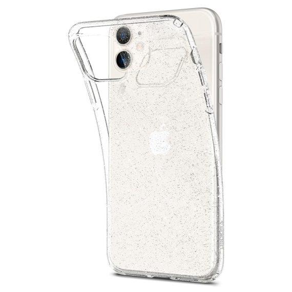 Spigen Liquid Crystal Glitter Iphone 11 Przezroczyste Etui Brokat 5