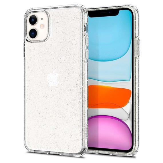 Spigen Liquid Crystal Glitter Iphone 11 Przezroczyste Etui Brokat