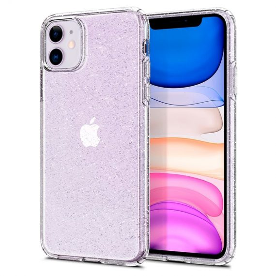 Spigen Liquid Crystal Glitter Iphone 11 Przezroczyste Etui Brokat 6
