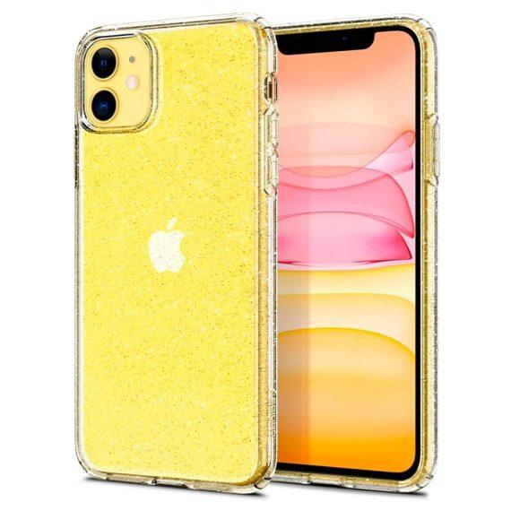 Spigen Liquid Crystal Glitter Iphone 11 Przezroczyste Etui Brokat 7