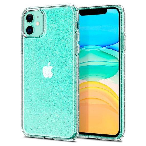 Spigen Liquid Crystal Glitter Iphone 11 Przezroczyste Etui Brokat 9