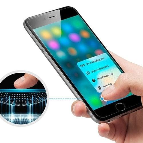 Szkło Hartowane Iphone 7 Plus 8plus Orange 9