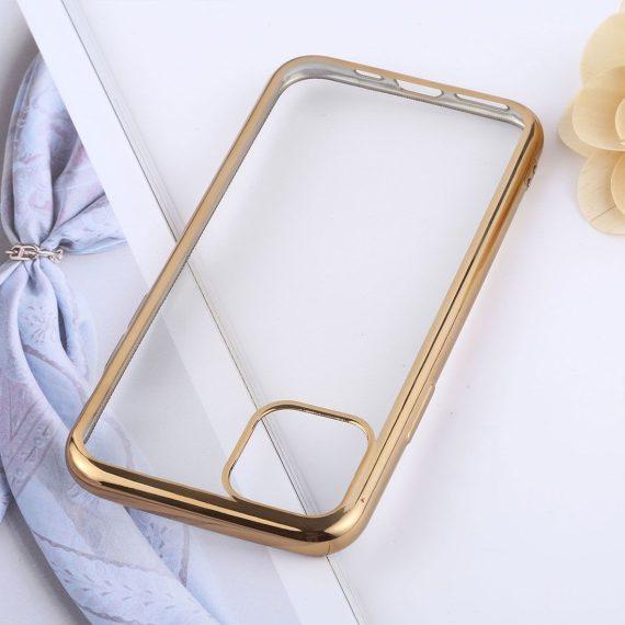 transparente tpu zlote iphone 11