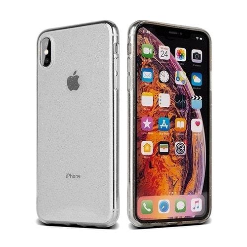 Etui Iphone Xxs Crystal Glitter – Srebrny